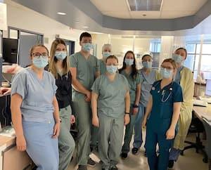 Comme partout au Québec, les infirmières et infirmiers de l'hôpital de la Cité-de-la-Santé, épuisés, demandent la suspension des frais pour leur permis de pratique.