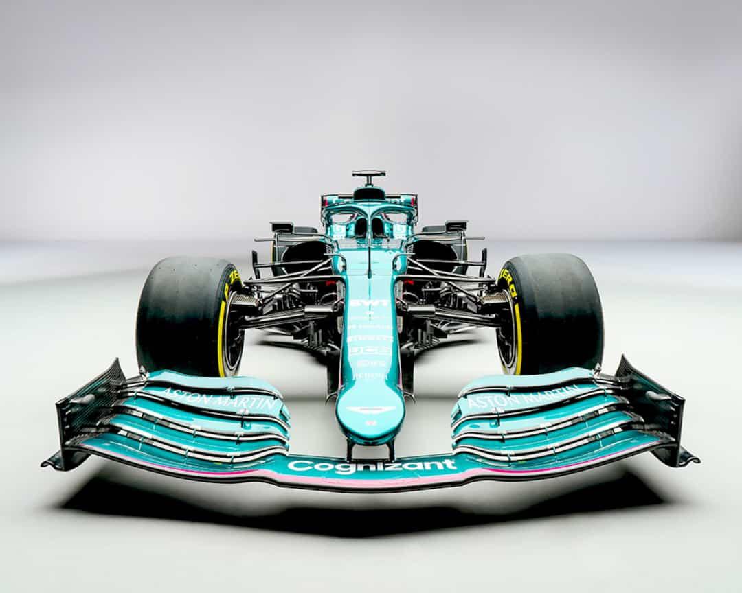 Formule Un Aston Martin