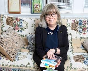L'écrivaine, Suzanne Aubry.