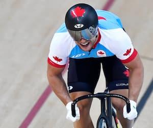 Hugo Barrette se prépare pour les Jeux de Tokyo en s'entraînant à plein régime.