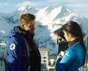 Jérémie Rénier et Noée Abita dans le film français Slalom.
