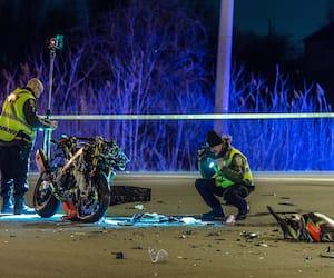 Frédéric Cardinal, qui pose avec ses enfants, Noah et Eva, a été impliqué dans une collision qui lui a coûté la vie, mardi, alors qu'il essayait sa nouvelle moto.