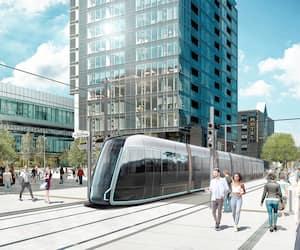 Le tramway doit être livré en 2026-2027. Ses deux extrémités seront situées dans les secteurs Le Gendre (à l'ouest) et D'Estimauville (à l'est), en passant notamment par le quartier Saint-Roch.