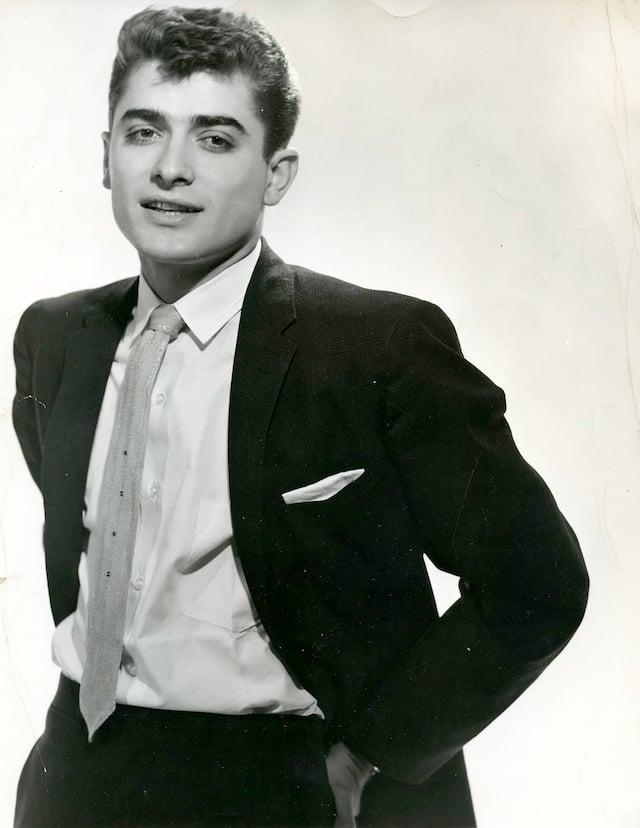 Michel Louvain dans les années 1960.