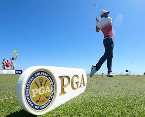 Le Canadien Corey Conners a été en plein contrôle lors de la première ronde du Championnat de la PGA, jeudi.