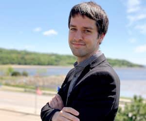 Le directeur général de Tourisme Charlevoix, Mitchell Dion.