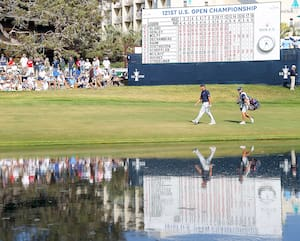 L'édition 2021 de l'Omnium des États-Unis avait lieu au prestigieux club de golf Torrey Pines.