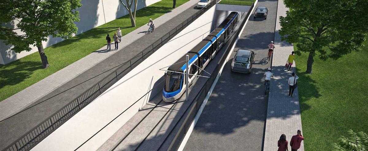Le tramway compatible avec les arbres, disent plusieurs organismes environnementaux