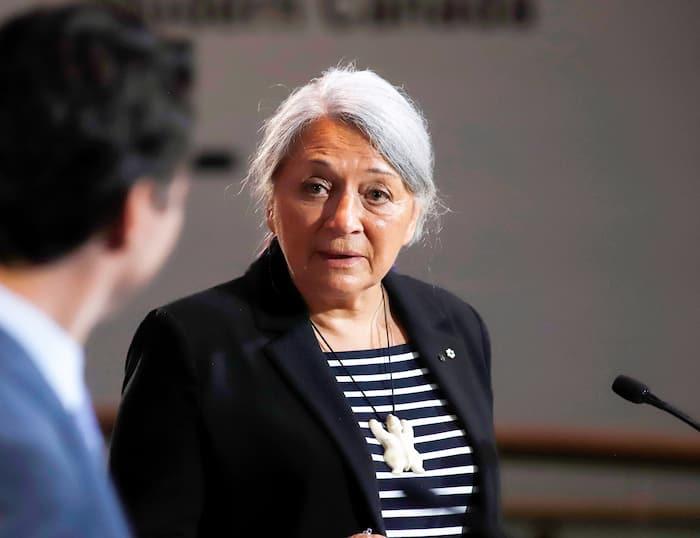 La nouvelle gouverneure générale du Canada Mary Simon
