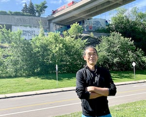 Napoléon Woo, propriétaire du restaurant «Wok N Roll»