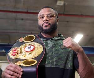Jean Pascal arborait fièrement la ceinture de la WBA remportée par décision unanime aux dépens de Marcus Brown en août 2019.