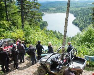 Si le cœur vous en dit, prenez donc le temps de faire un petit saut dans la vallée de la Matapédia en direction de votre tournée en Gaspésie. Les sentiers du Club VTT de la Matapédia vont vous permettre d'avoir accès à des points de vue uniques sur la région.