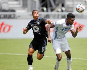Gustavo Vallecilla avait fait mal au CF Montréal en procurant la victoire au FC Cincinnati à la 86e minute de jeu en mai dernier.