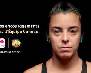 Kraft fera la promotion de quelques athlètes durant la période olympique, notamment pour la plongeuse québécoise Meaghan Benfeito, triple médaillée olympique.