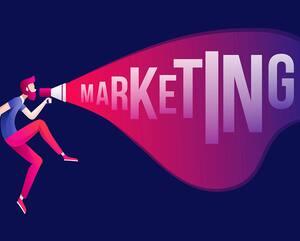 Marketing concept illustration