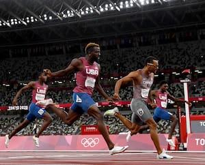 Andre De Grasse, qui a notamment triomphé au 200m, a été l'un des héros canadiens des Jeux de Tokyo.