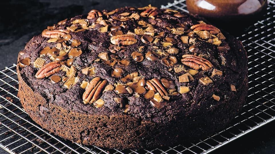 Le Papouski chocolat, caramel et pacanes | JDM