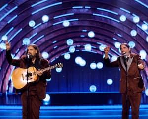 Les Denis Drolet, ont offert un bon spectacle, surtout lors de leur deuxième numéro, lors du gala qu'ils animaient, samedi soir, dans le cadre du festival ComediHa! au Théâtre Capitole de Québec.