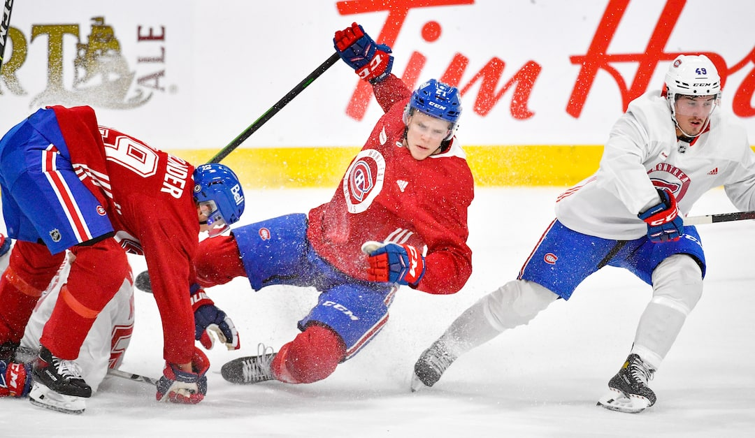 Camp recures Canadiens