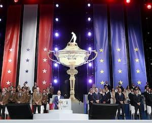 Le lancement de la Coupe Ryder s'est fait en grandes pompes jeudi au Wisconsin.