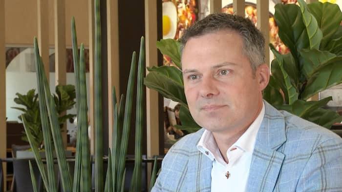 Éric Lefebvre, le PDG de MTY, la plus grosse chaîne de restauration au Québec.