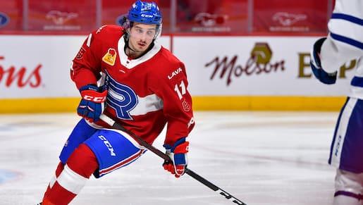 Harvey-Pinard s'entend avec les Canadiens