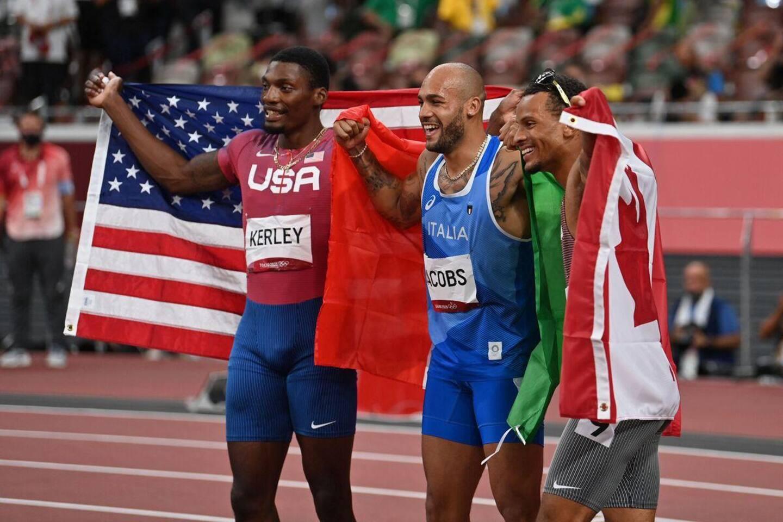 Tokyo 2020: Andre De Grasse remporte le bronze à l'épreuve mythique du 100 mètres