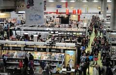 Du public au Salon du livre de Québec
