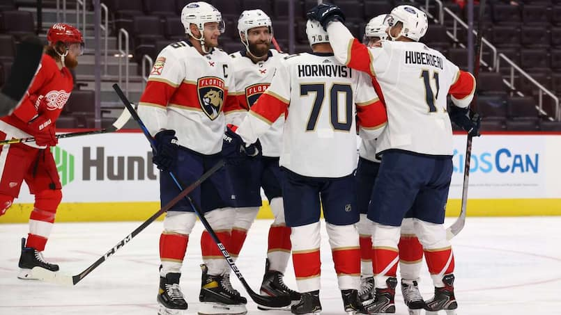 Les Panthers écrasent les Red Wings