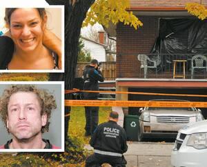Simon Brind'Amour est accusé du meurtre au deuxième degré de sa conjointe Josiane Arguin.