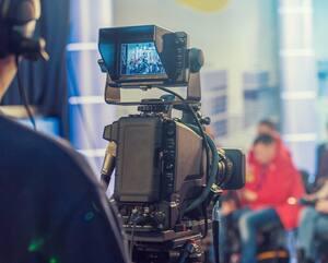 Bloc camera tournage cinema télé