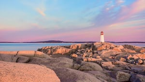 Peggy's Cove, Nouvelle-Écosse.