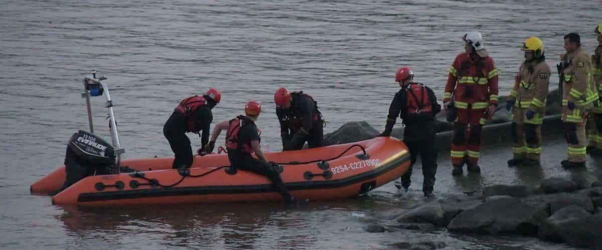 [EN IMAGES] Fleuve Saint-Laurent: un corps a été repêché à Québec