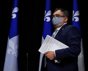 Le Directeur national de la santé publique Horacio Arruda