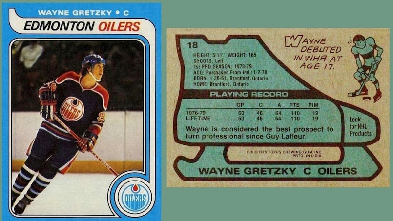 Une carte de hockey vendue à un prix record