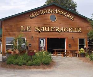La microbrasserie Le Naufrageur, à Carleton-sur-Mer.