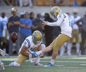Après une carrière universitaire à UCLA, le botteur JJ Molson a suffisamment impressionné les dépisteurs pour obtenir une invitation au Combine de la NFL.