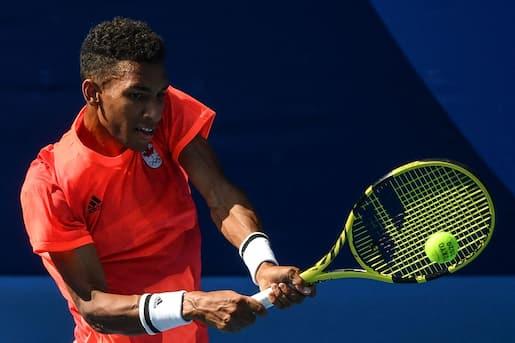 Tennis: Auger-Aliassime et Dabrowski s'inclinent