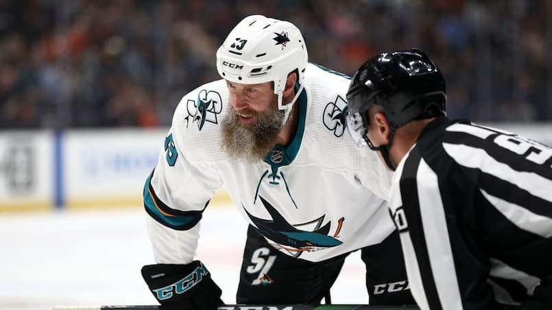 Joe Thornton a été influencé par Joe Montana