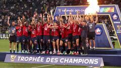 Trophée des champions: Lille détrône à nouveau le PSG
