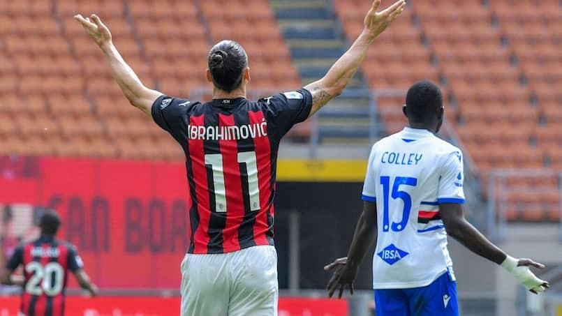 Zlatan et Milan contraints au nul