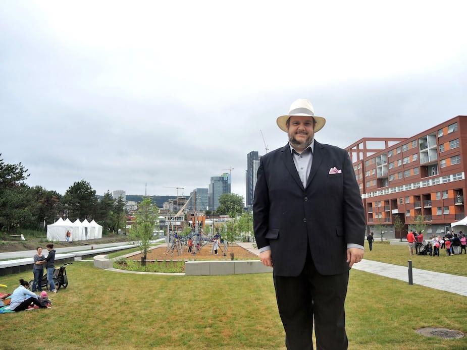Le maire du Sud-Ouest, Benoit Dorais, mise beaucoup sur le Programme particulier d'urbanisme de Griffintown pour améliorer la vie de quartier.