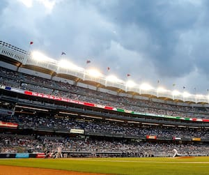 Bloc stade, baseball