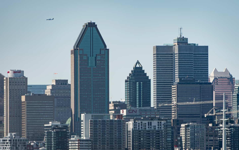 Pandémie: le centre-ville de Montréal «performe très bien» dit un expert