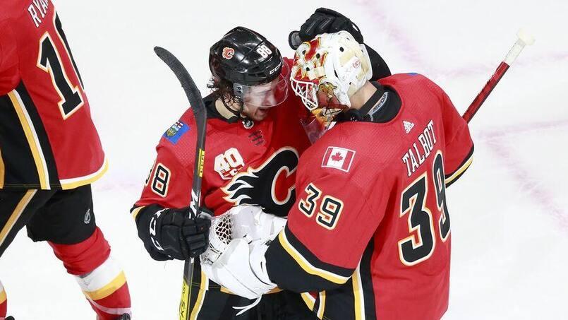 Les Flames prennent les devants face aux Jets