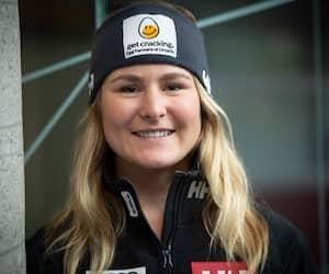 La skieuse Valérie Grenier
