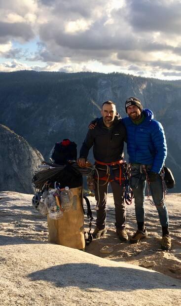 Image principale de l'article 11 jours à grimper une paroi de 915 mètres