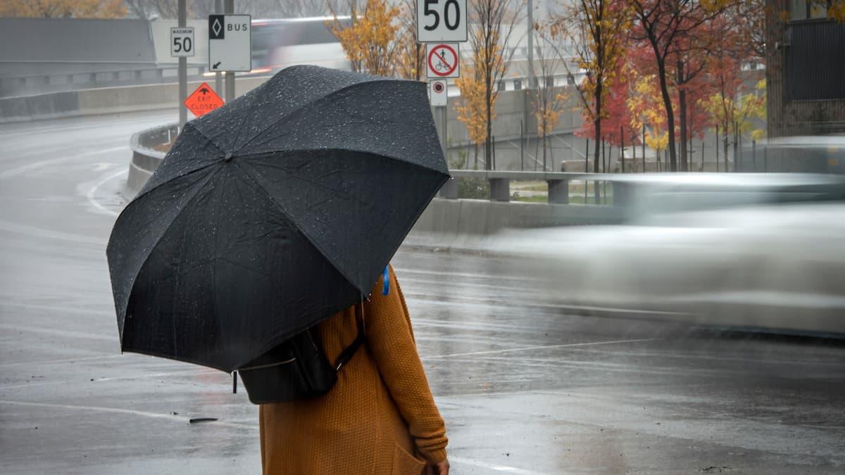 Plus de 50 mm de pluie attendus jusqu'à mercredi
