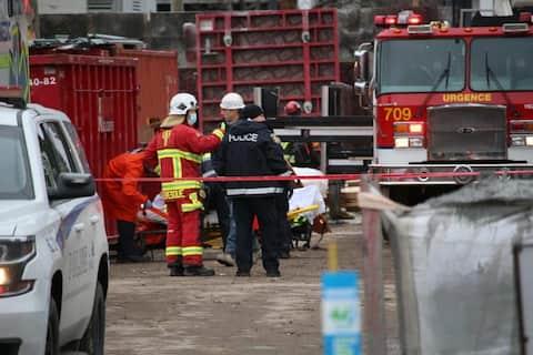 Accidente de traballo mortal no sector de Sainte-Foy