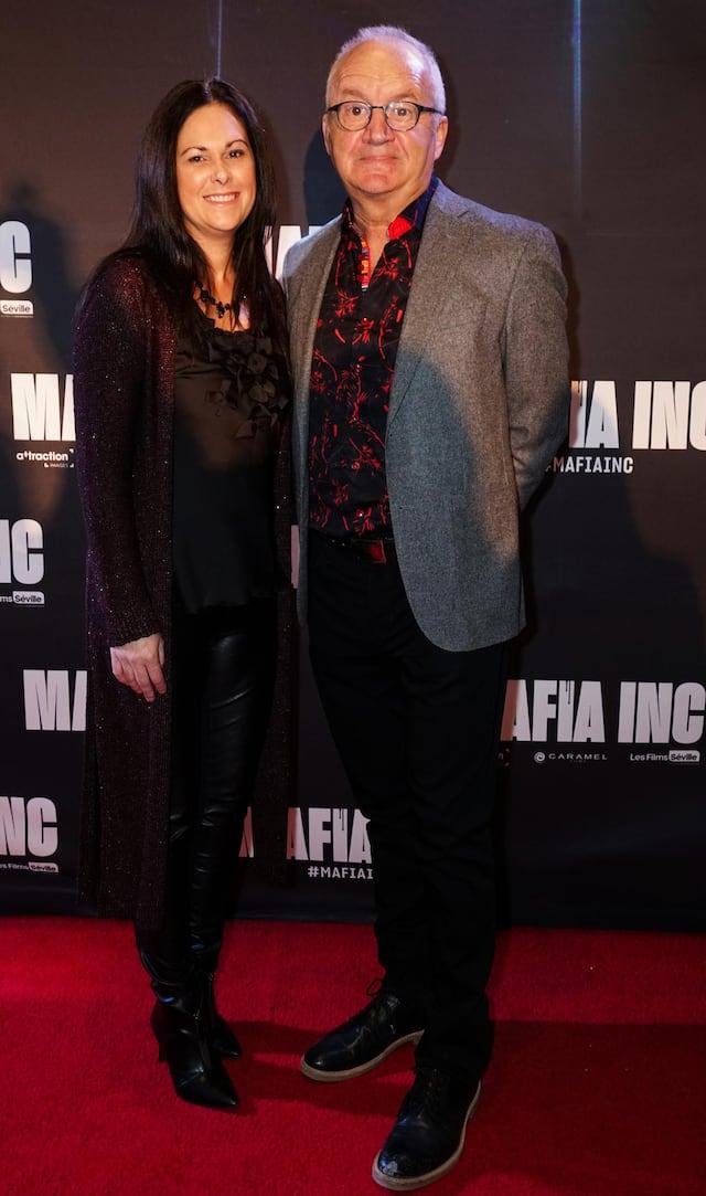 Michel Barrette et Maude Tremblay